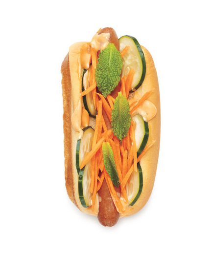 Banh Mi Hot dog (foto: Paul Sirisalee)